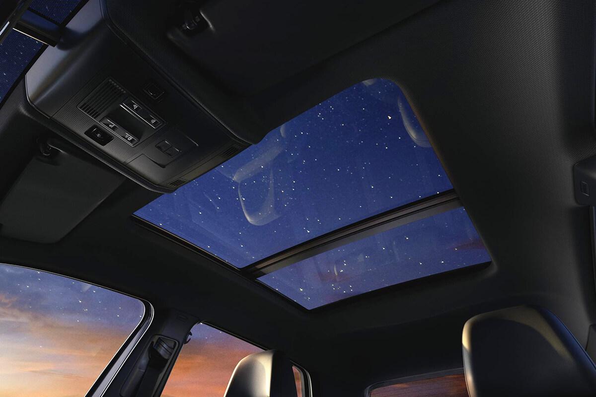 Teto solar panorâmico Sky