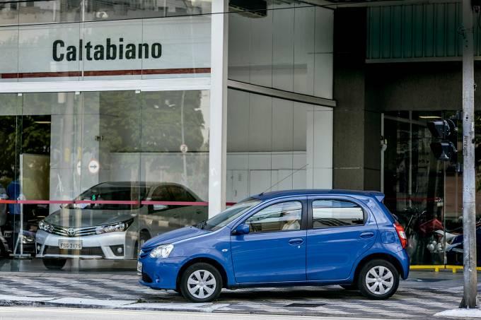 Longa Duração: desmonte do Toyota Etios
