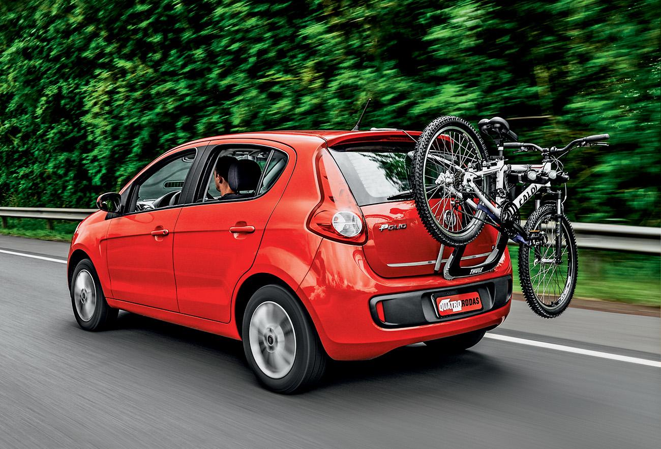 Bicicleta do lado de fora prejudica a aerodinâmica e piora o consumo