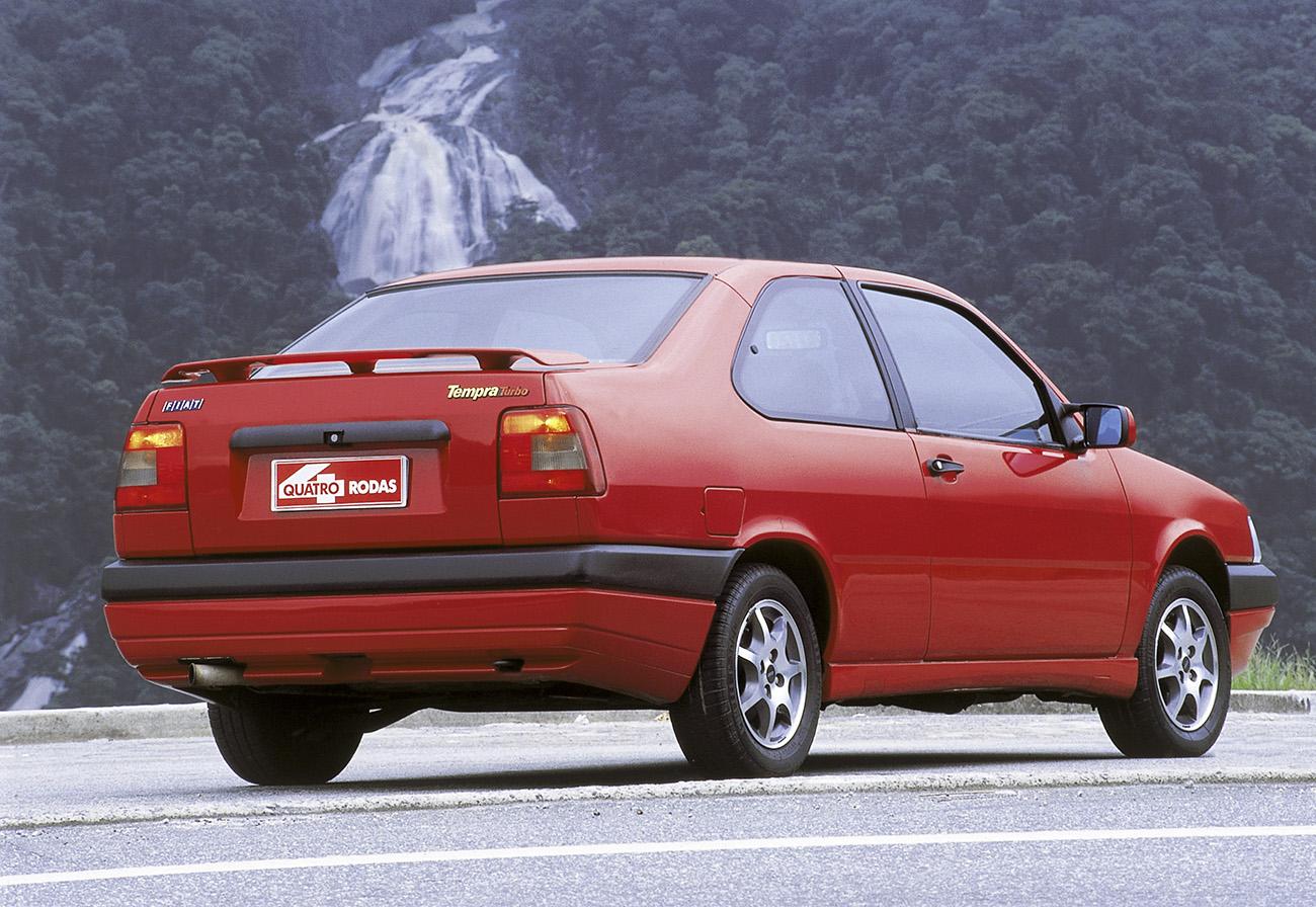 O Fiat Tempra Turbo tinha um desempenho que seria respeitável até hoje