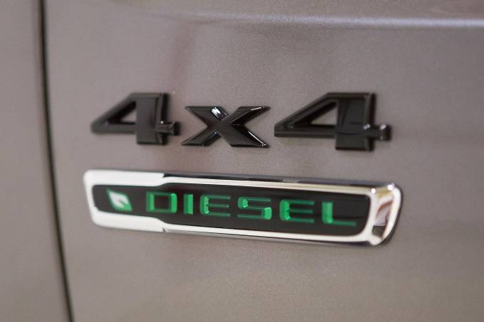 Logo Jeep Renegade diesel