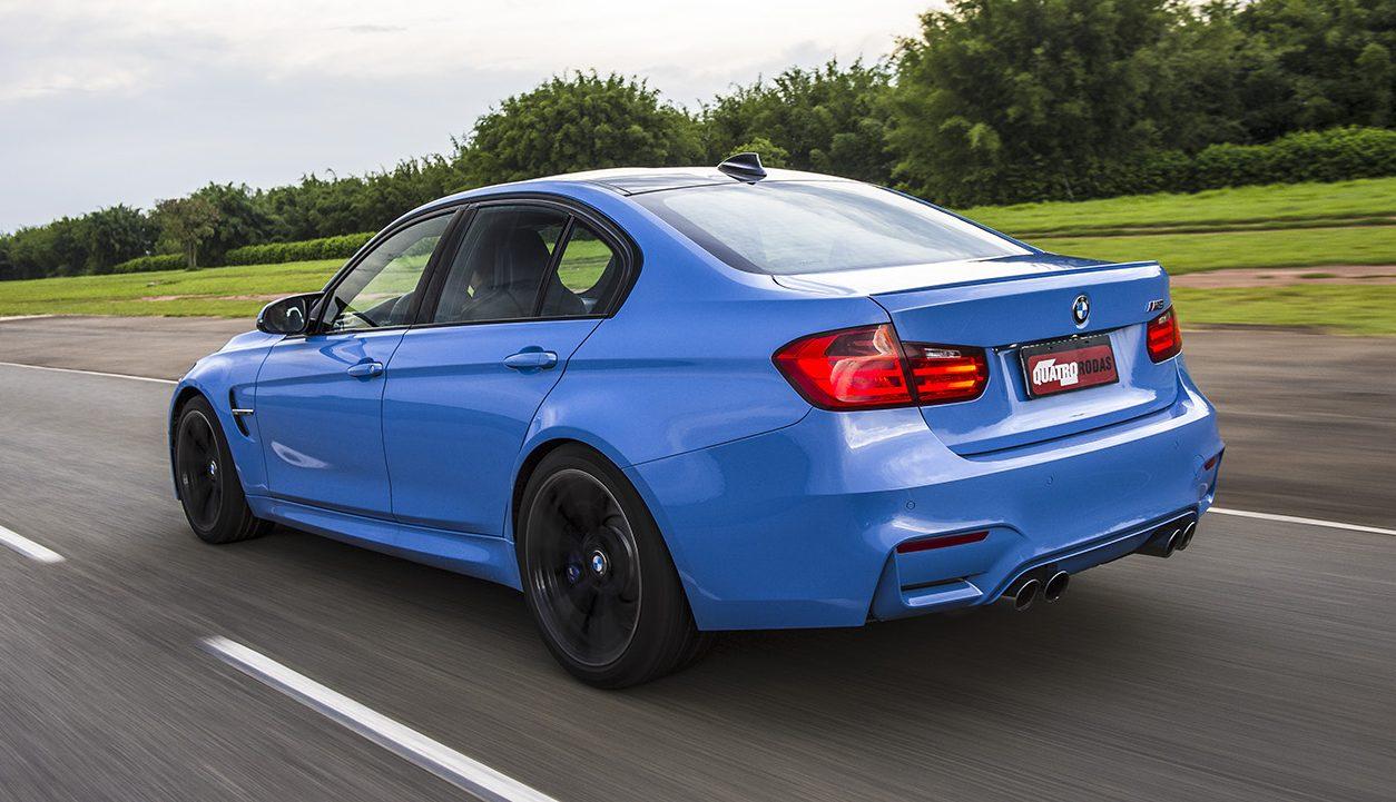 Sem limitador, M3 chega a 280 km/h
