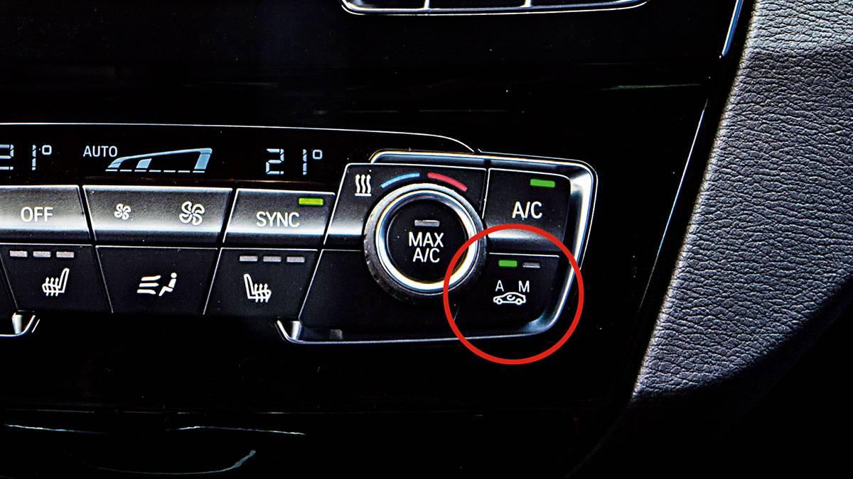 Ar-condicionado digital do BMW X1 xDrive25i