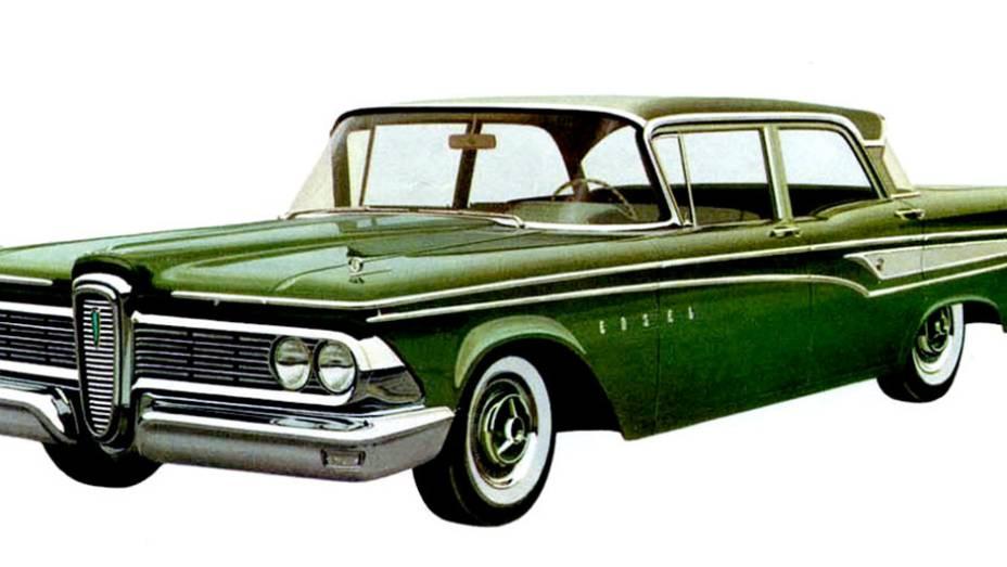 O período era de recessão e o portfólio da Ford já era bem abastecido com as marcas Ford, Mercury e Lincoln. O estilo discutível - era chamado de colarinho de cavalo - certamente não ajudou.