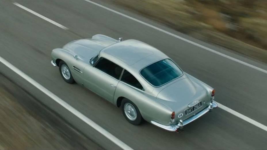 Sucesso mundial de bilheteria, 007 - Skyfall marcou o retorno do Aston Martin DB5, o carro favorito do espião, à telona.