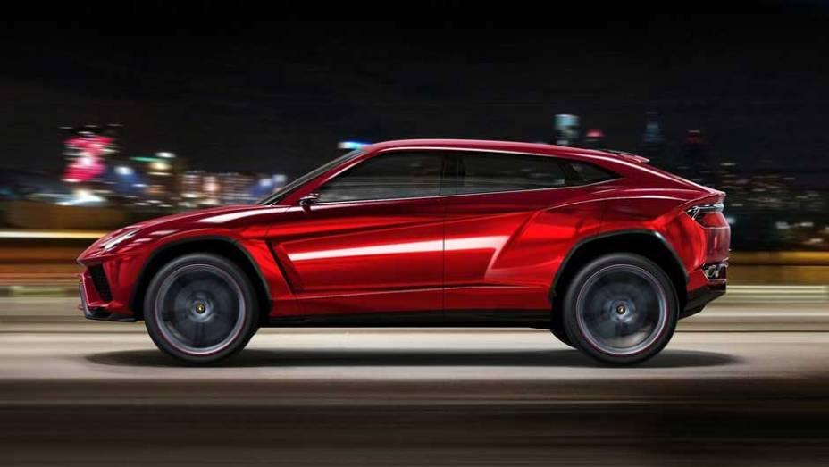 Lamborghini Urus: revelado ao mundo no Salão de Pequim de 2012, o SUV, enfim, foi confirmado pela marca italiana e deve virar realidade até 2018