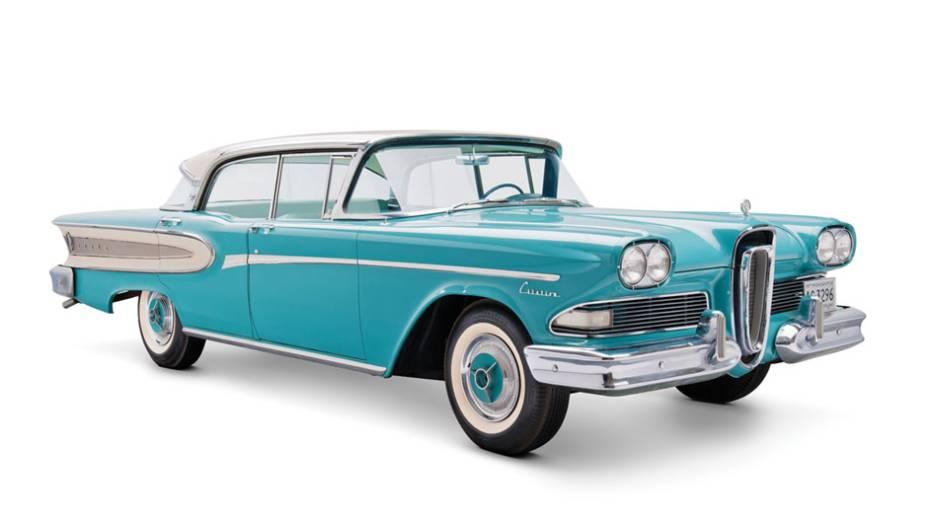 Edsel: o primogênito de Henry Ford batizou a marca que deveria alavancar as vendas da Ford Motor Company, mas a empresa foi extinta após três anos de baixas vendas