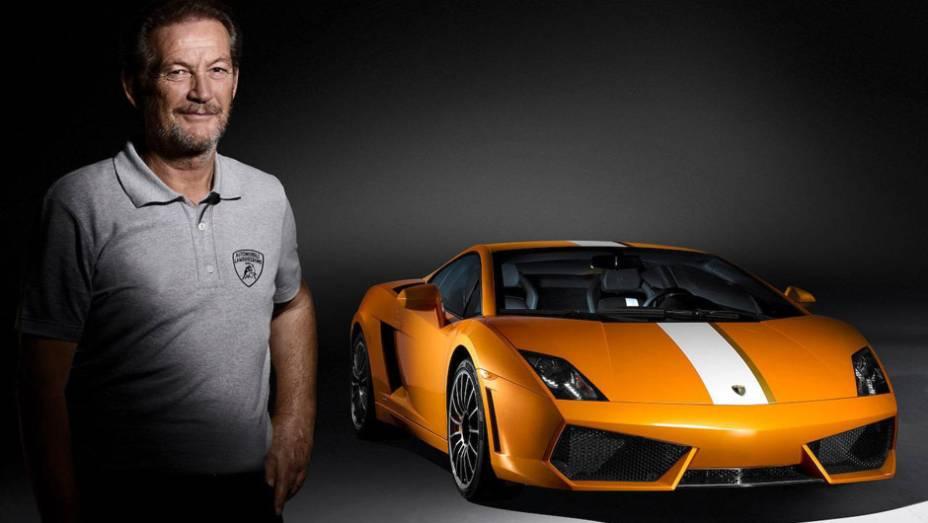 Lamborghini Gallardo Valentino Balboni: o piloto de testes mais famoso da marca de SantAgata Bolognese batiza esta série especial, equipada com um motor 5.2 V10 de 550 cv