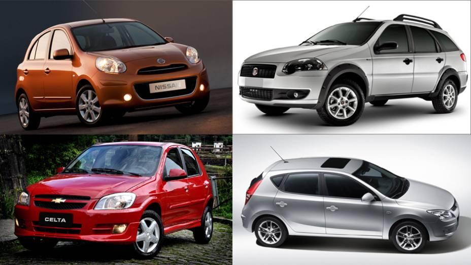 No primeiro trimestre do ano, 611.463 carros foram vendidos no Brasil, segundo a Fenabrave. Veja 15 modelos que tiveram fortes queda em suas vendas em um ano. (por Daniela Barbosa, de Exame.com)
