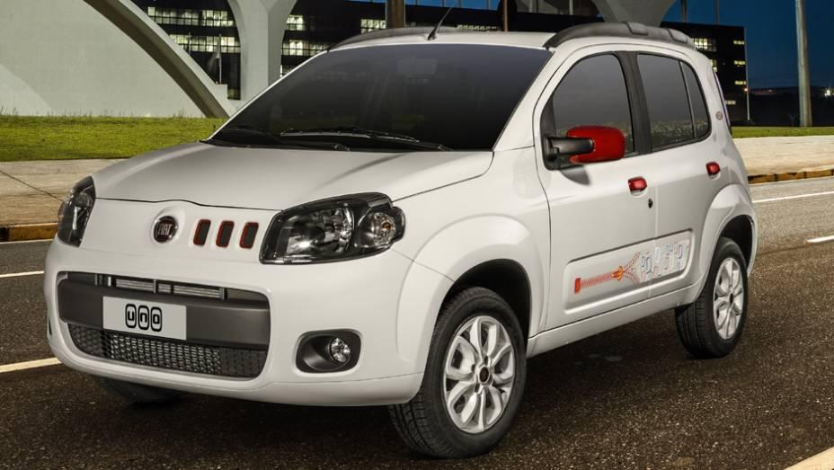 Fiat Uno: com 44.369 unidades vendidas no primeiro trimestre de 2013, o Uno já teve dias melhores; no primeiro trimestre de 2012, registrava 59.168 unidades comercializadas, queda de 25%