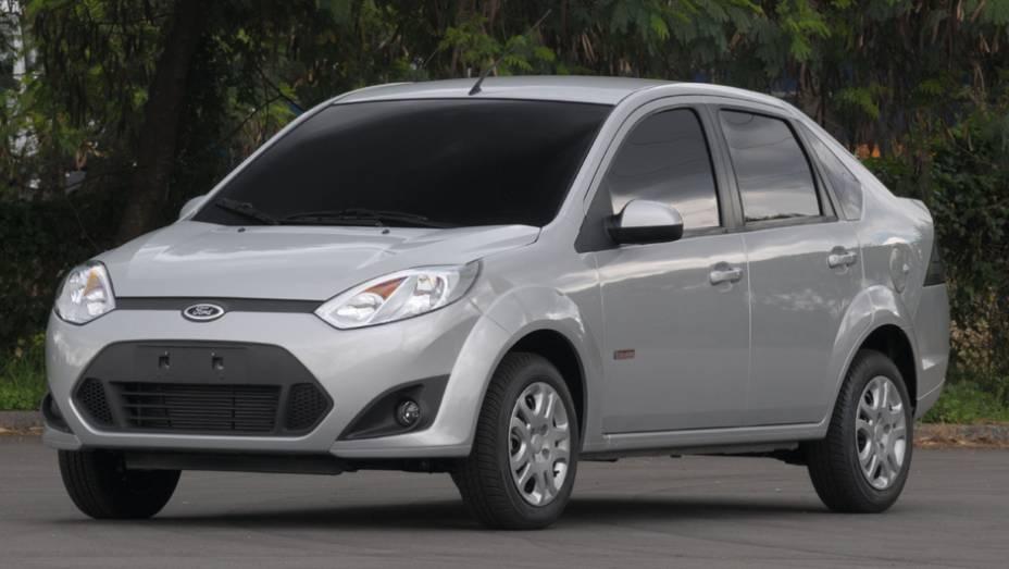 Ford Fiesta Sedan: declínio de 43%, com 5.126 unidades comercializadas no 1º tri de 2013 e 8.999 no mesmo período de 2012