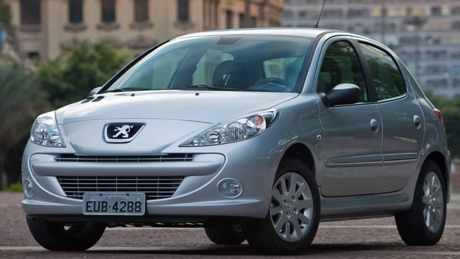 Peugeot 207: hoje no 34º lugar com 6.411 unidades, agora ele ocupa o 25º lugar, com 4.262 unidades no 1º trimestre de 2012