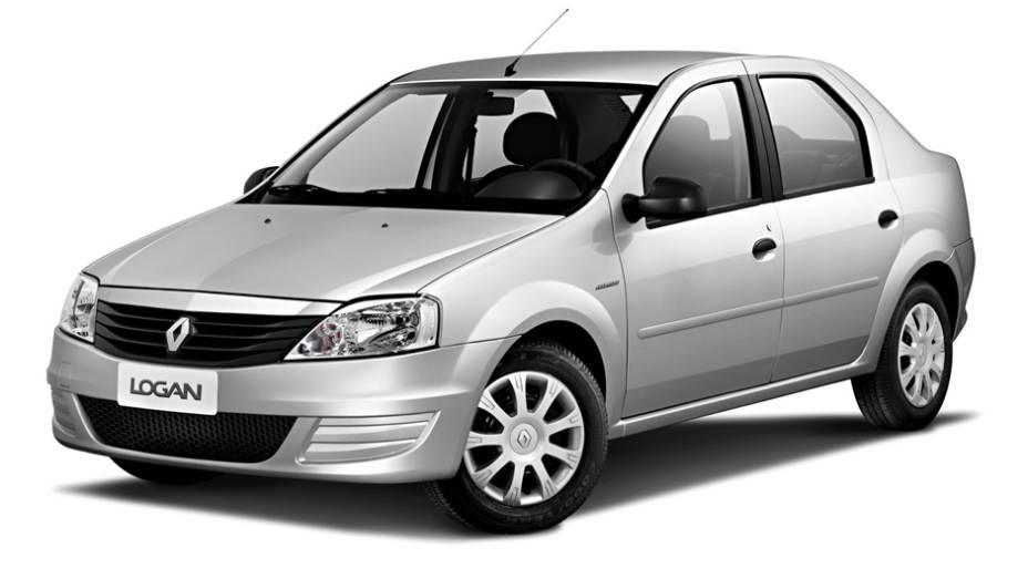 Renault Logan: com declínio de 51,4%, o sedã vendeu 3.807 unidades no 1º tri de 2013, contra 7.839 em igual período de 2012