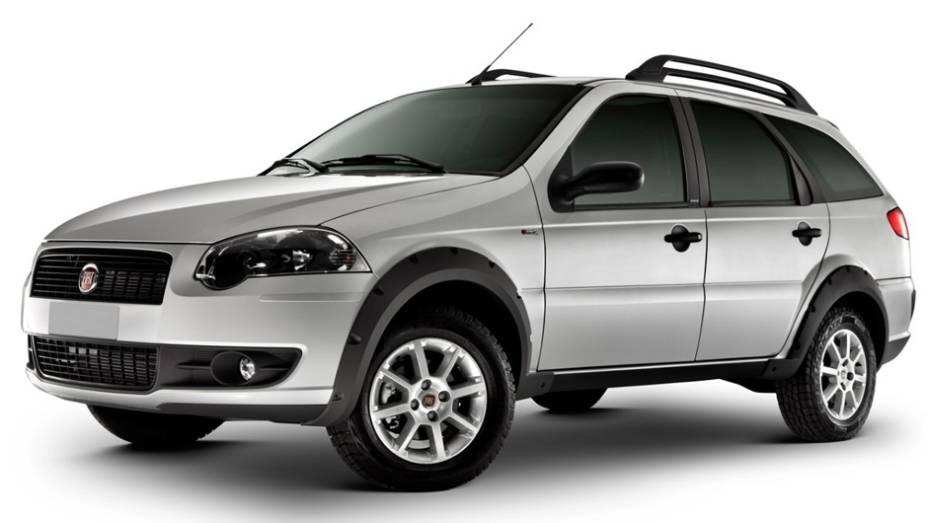 Fiat Palio Weekend: a perua teve queda de 31%, com 3.492 unidades vendidas no 1º tri de 2013, ante 5.062 unidades no 1º tri de 2012