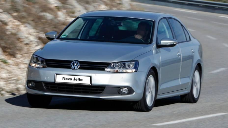 VW Jetta: declínio de 47,3%, com 3.357 unidades no 1º tri de 2013, contra 6.380 unidades em igual período de 2012