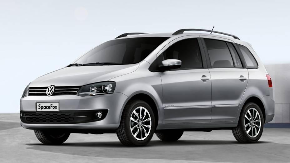 VW SpaceFox: queda de 30,4%, com 3.211 unidades no 1º trimestre de 2013 e 4.620 unidades no 1º trimestre de 2012