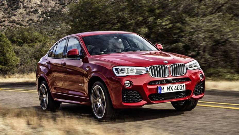 Esta é a versão final do X4, o novo crossover da BMW