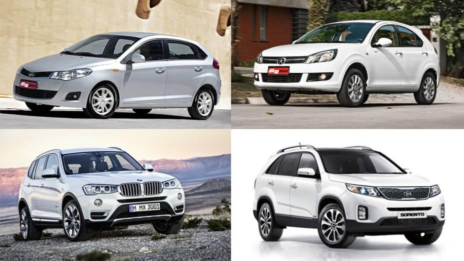 Foram emplacados 7.603 automóveis de passeio e comerciais leves importados para o país. Descubra quais foram os modelos mais vendidos até novembro - por Tatiana Vaz, de Exame.com