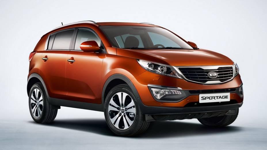 Kia Sportage: 893 unidades no mês   9.183 veículos até novembro de 2014