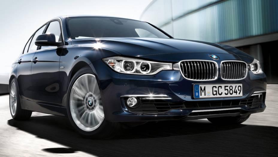 BMW Série 3: 535 unidades no mês   6.718 veículos até novembro de 2014