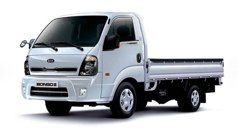 Kia Bongo: 283 unidades no mês   3.824 veículos até novembro de 2014
