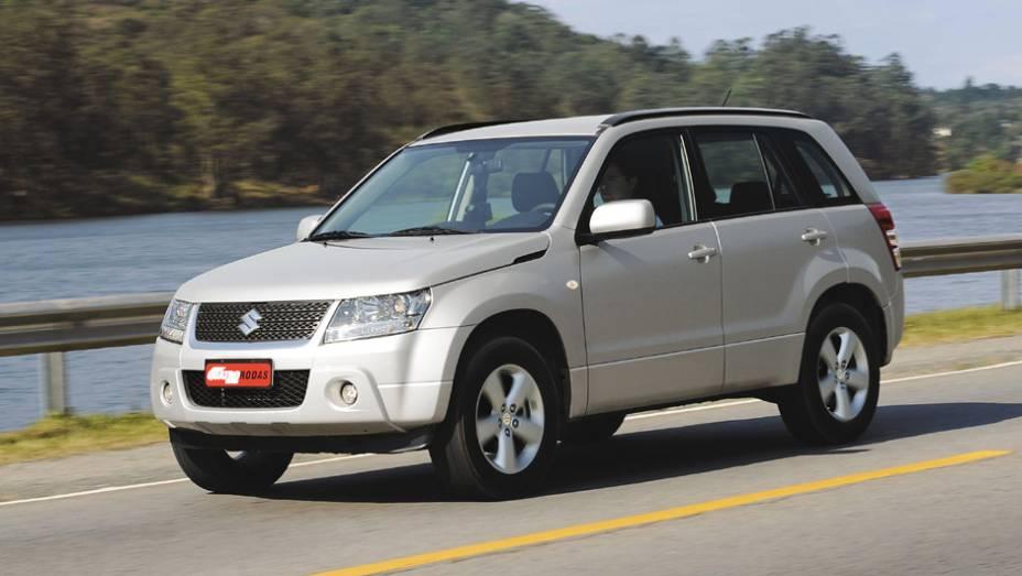Suzuki Grand Vitara: 277 unidades no mês   2.648 veículos até novembro de 2014