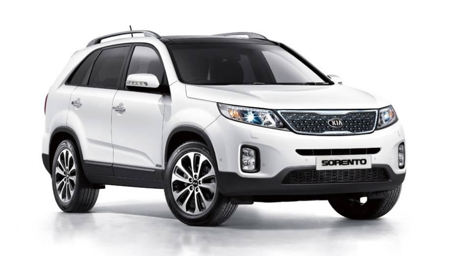 Kia Sorento: 187 unidades no mês   2.099 veículos até novembro de 2014