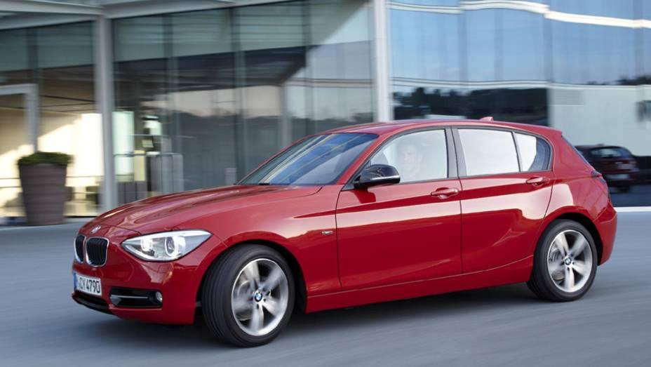 BMW Série 1: 147 unidades no mês   1.563 veículos até novembro de 2014