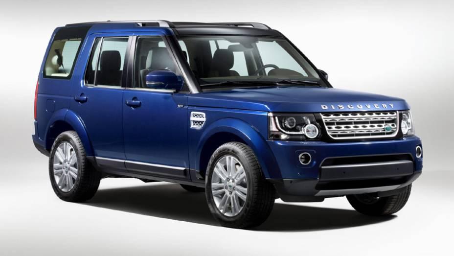 Land Rover Discovery 4: 106 unidades no mês   1.276 veículos até novembro de 2014