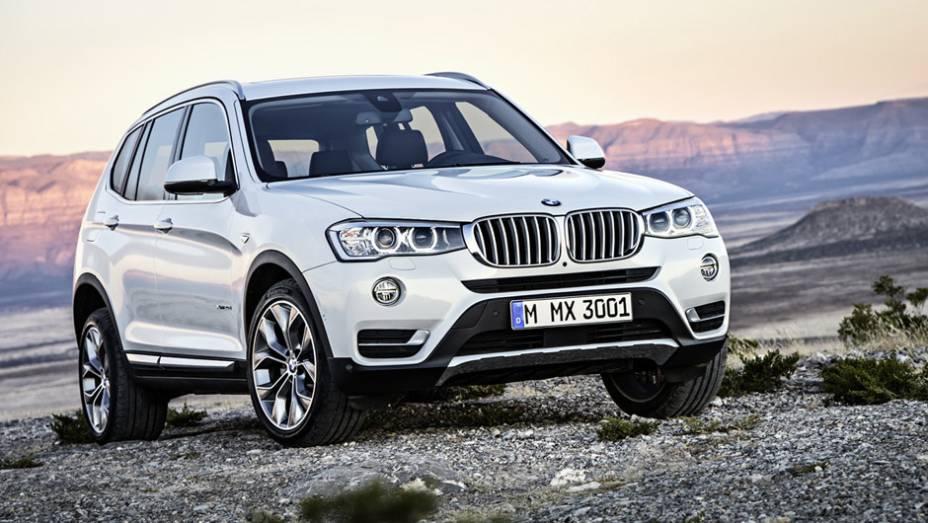 BMW X3: 177 unidades no mês   1.075 veículos até novembro de 2014