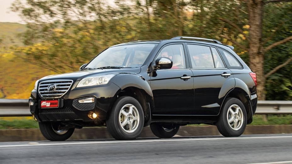 Lifan X60: 494 unidades no mês   3.852 veículos até novembro de 2014