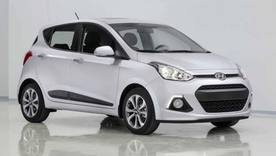 """Uma das novidades no Salão de Frankfurt é a nova geração do Hyundai i10   <a href=""""http://quatrorodas.abril.com.br/saloes/frankfurt/2013/hyundai-i10-753181.shtml"""" rel=""""migration"""">Leia mais</a>"""