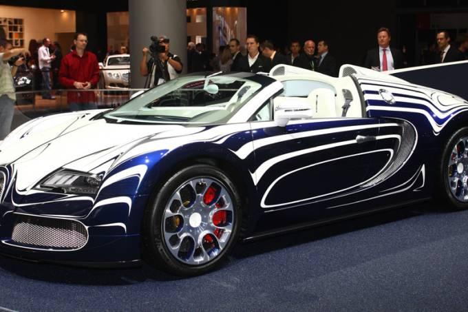 Estande da Bugatti