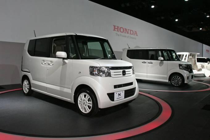 Honda: estande em Tóquio