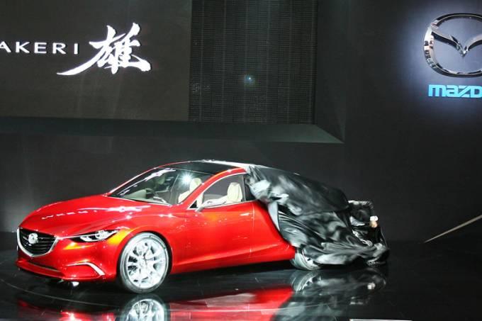 Mazda: estande em Tóquio