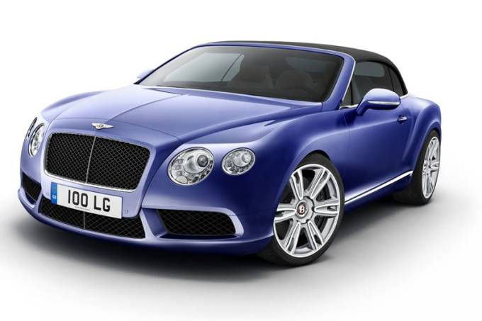 Bentley Continental V8.