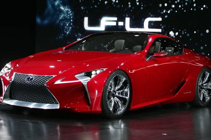 Lexus: estande em Detroit