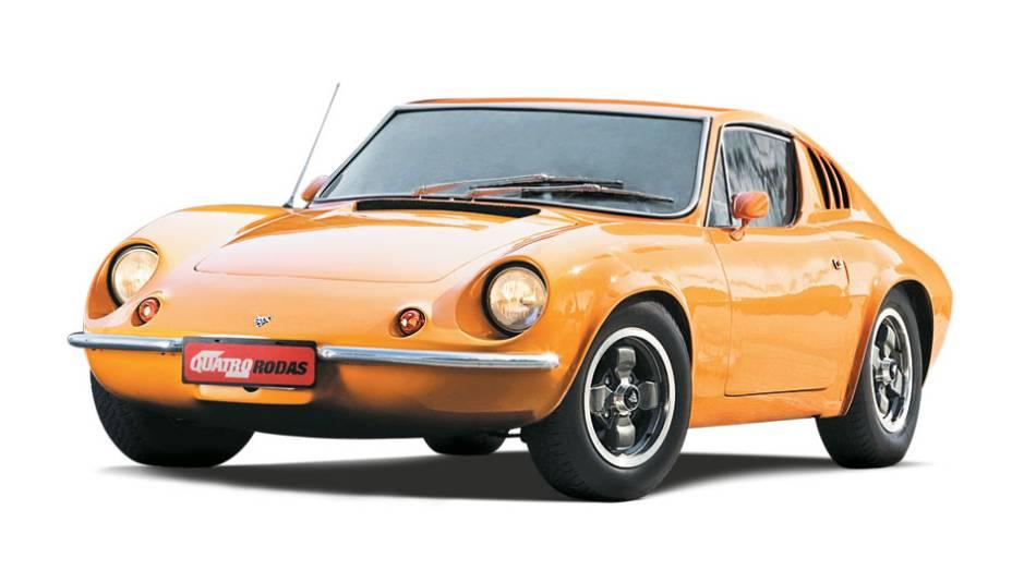 Puma: foi o mais bem-sucedido esportivo nacional. Surgiu como um protótipo de corrida, em 1964, e impressionou tanto seus criadores que logo virou carro de rua e ganhou o nome Puma