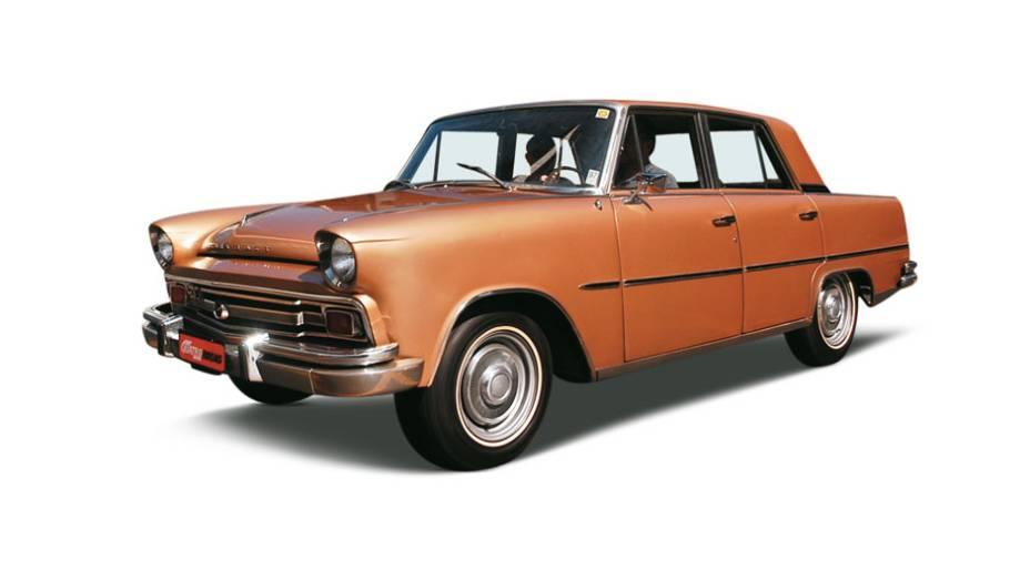 Itamaraty: lançado em 1966, o automóvel foi o primeiro modelo de luxo feito no Brasil. Derivado da segunda geração do Aero-Willys, era um carro de segmento superior