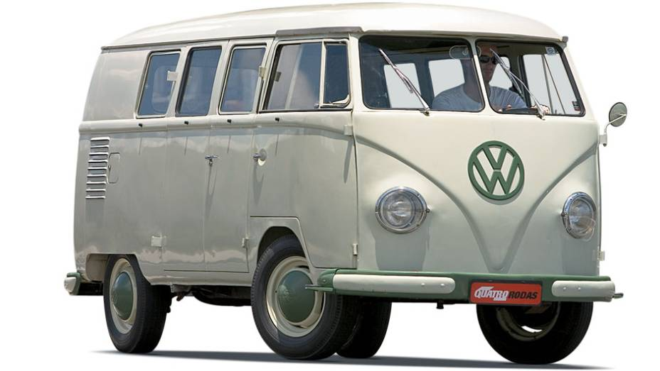 Kombi: montada aqui em 1953, com peças da Alemanha, passou a ser fabricada em 1957 e até hoje está em linha. Utilitária por excelência, ainda não encontrou um rival com melhor custo-benefício