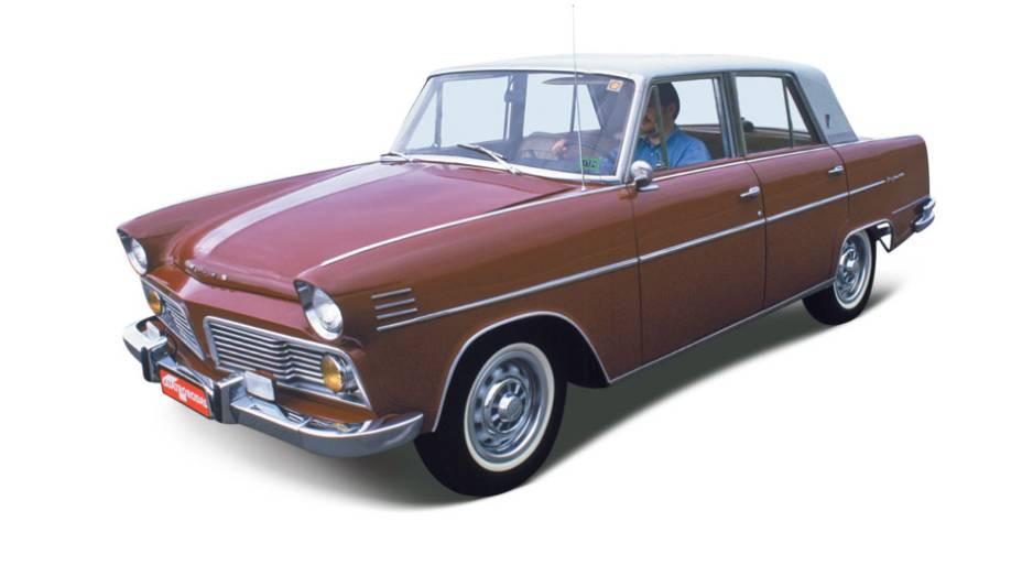 Aero-Willys: sonho de consumo da classe média, impunha respeito por onde passava. Feito de 1960 a 1971, teve seu auge em meados dos anos 60, quando estreou o câmbio de quarto marchas sincronizadas e um seis-cilindros de 110 cv