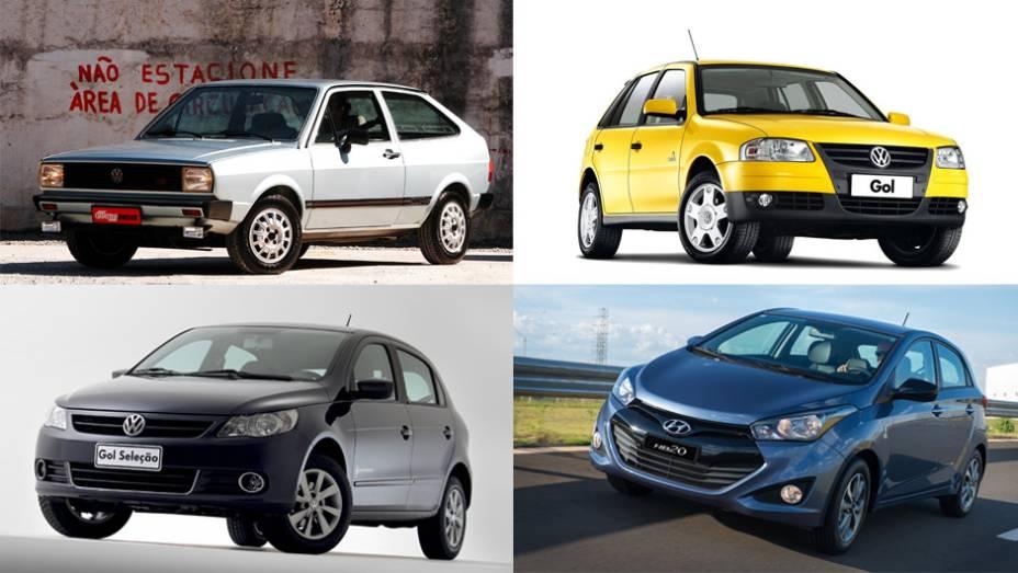 Desde 1982 a indústria automobilística brasileira lança séries especiais homenageando a Copa do Mundo de futebol; será que estes carros foram bola na rede ou gol contra?