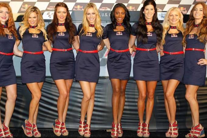 Garotas do GP de Laguna Seca