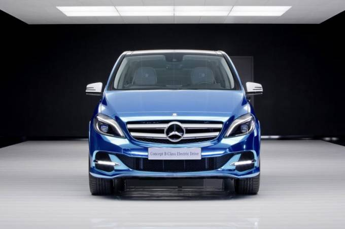Mercedes-Benz Classe B Electric Drive concept