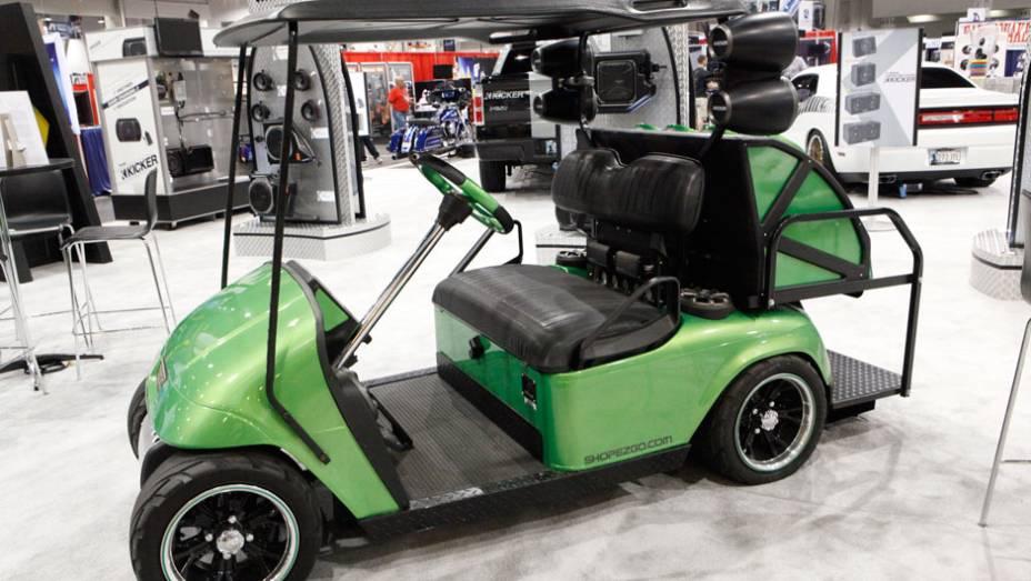 Maior evento de carros personalizados do mundo, o SEMA Show reúne todo tipo de projeto sobre rodas. Até os carrinhos de golfe entraram na dança...