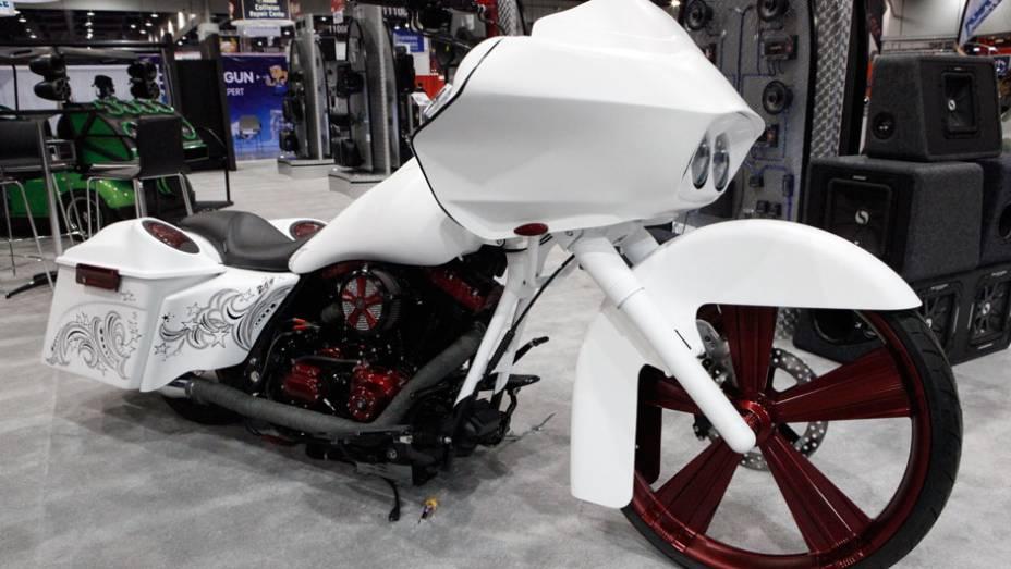 As motocicletas tiveram atenção especial das empresas de preparação