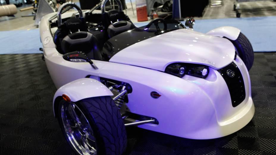 A Campagna é famosa por seus triciclos pouco comuns, como o V13R