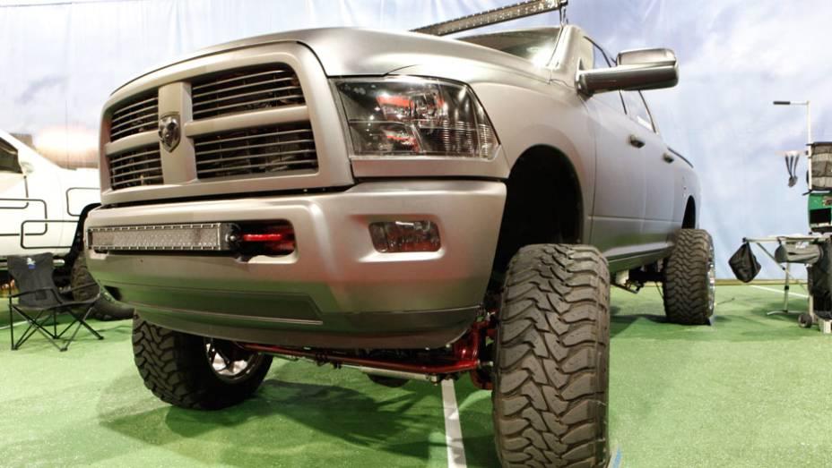 Tem coragem de encarar esta Dodge Ram?