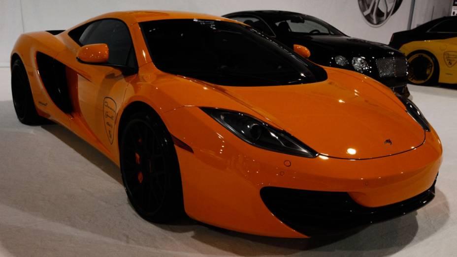 Nem o McLaren MP4-12C escapou da mente criativa dos personalizadores do SEMA