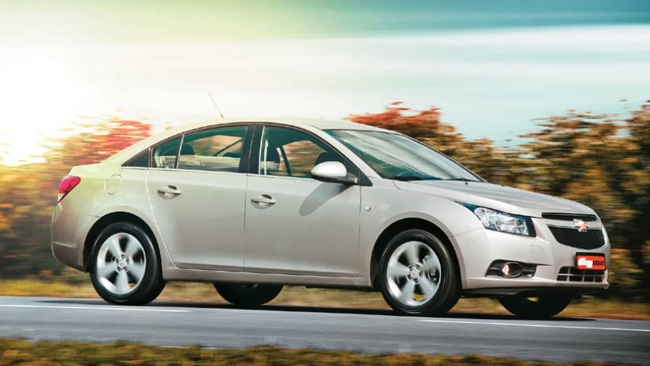 Chevrolet Cruze: queda de 66,29% (vendas em janeiro de 2015: 843 x vendas em janeiro de 2014: 2.501)